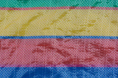 Colorful strip texture. Colorful plastic strip texture background stock photography