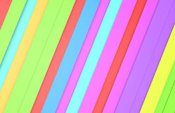 Colorful stripe background Stock Photography