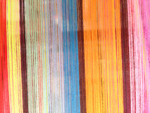 Colorful stripe cord background. Colorful stripe cord of loincloth background Stock Photos