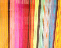 Colorful stripe cord background. Colorful stripe cord of loincloth background Royalty Free Stock Image