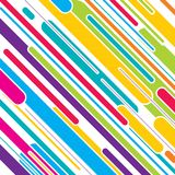 Colorful stripe pattern design Royalty Free Stock Images