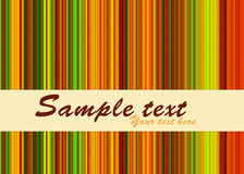 Colorful striped background Stock Images