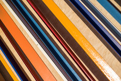 Colorful striped background. Diagonal stripes pattern. Abstract Royalty Free Stock Photography