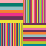 Colorful striped background. Stock Image