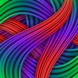 Colorful striped background. Vector illustration for your design stock illustration