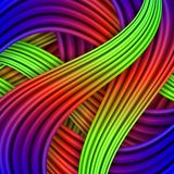 Colorful striped background. Vector illustration for your design Royalty Free Illustration