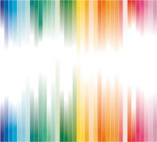 Colorful Striped Business Background Stock Photography