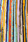 Colorful Striped Carpet Royalty Free Stock Image