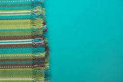 Colorful striped cloth. Horizontal image. Royalty Free Stock Photos