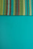 Colorful striped cloth Royalty Free Stock Photography