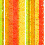 Colorful striped crumpled  paper background Royalty Free Stock Photos