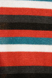 Colorful striped fabric Royalty Free Stock Photography