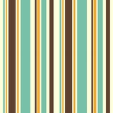 Colorful striped seamless pattern background illustration Stock Images