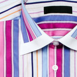 Colorful striped shirt striped Royalty Free Stock Photography