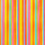 Colorful striped (stripes pattern) background. Vector watercolor backdrop with rainbow texture for any modern design illustration Royalty Free Stock Images
