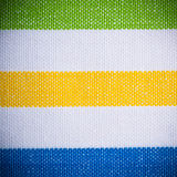 Colorful striped textile as background or texture Royalty Free Stock Images