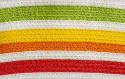 Colorful striped textile background Royalty Free Stock Photo
