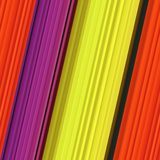 Colorful stripes stock illustration