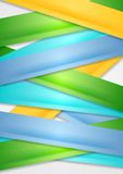Colorful stripes abstract vector background Royalty Free Stock Photo
