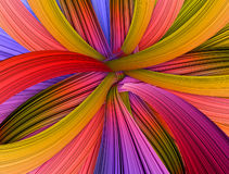 Colorful stripes Background. Illustration of colorful wavy Abstract Background Royalty Free Stock Photos