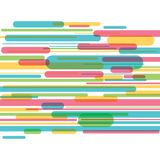 Colorful stripes background Royalty Free Stock Photography
