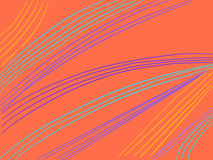 Colorful stripes background Wavy Lines. Abstract background, symbolic of research, progress, engineering, networking and the like Royalty Free Illustration