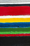 Colorful stripes of colors Royalty Free Stock Image