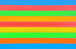 Colorful stripes. Illustration of door shutter in different colors royalty free illustration