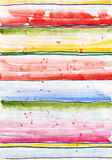 Colorful stripes. Royalty Free Stock Images