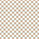 Checkered Colorful Stripe Squares Geometric Pattern Royalty Free Stock Photos