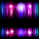 Colorful strips abstract background Stock Image