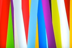 Colorful strips as a background Royalty Free Stock Images
