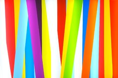 Colorful strips as a background Stock Photography