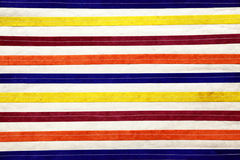 Colorful stripy lines Stock Image
