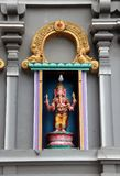 Colorful stucco Ganesha on camber altar at the temple of Hinduism and Brahmanism. The Lord of success. stock images