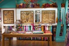 Colorful and stylish ethnic shop Royalty Free Stock Photo