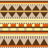Colorful, stylish and seamless geometrical pattern. Colorful stylish seamless geometrical pattern design with stripes and triangles in bright colors Royalty Free Stock Photo