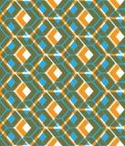 Colorful stylized symmetric endless pattern, transparent continu Stock Photos