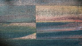 Colorful Styrofoam brick. abstract color and texture background. Closeup grungy texture Stock Photo