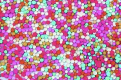 Colorful sugar background Royalty Free Stock Photo