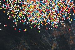 Colorful Sugar Balls Royalty Free Stock Photography