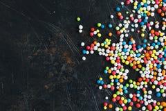 Colorful Sugar Balls Stock Photos