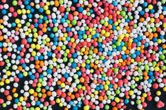 Colorful Sugar Balls Stock Image