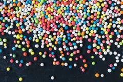Colorful Sugar Balls Stock Photo
