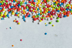 Colorful Sugar Balls Royalty Free Stock Photo