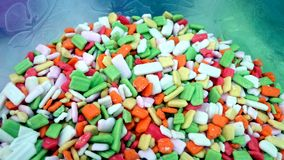 Colorful sugar candy Royalty Free Stock Photography