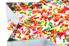 Colorful sugar royalty free stock photography