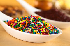 Colorful Sugar Sprinkles Stock Images