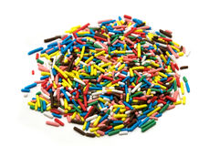 Colorful sugar Royalty Free Stock Image