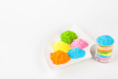 Colorful sugar Stock Photography